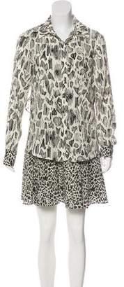 Derek Lam Silk Shirt Dress