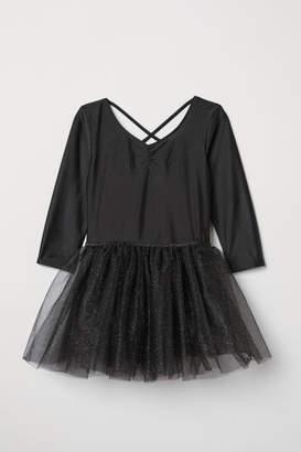 H&M Dance Leotard with Tulle Skirt - Black