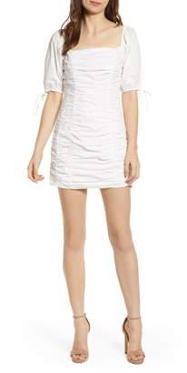 Endless Rose Shirred Cotton Minidress