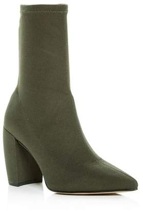 Kenneth Cole Women's Alora Pointed Toe Block-Heel Booties