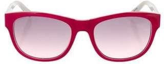 Just Cavalli Gradient Lens Logo Sunglasses
