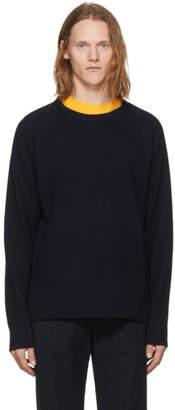 Nonnative Navy Wool Clerk Sweater