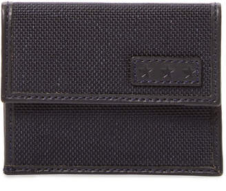 John Varvatos Woven Card Case With Coin Pouch