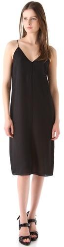 Alexander Wang Silk Combo Reversible Slip Dress