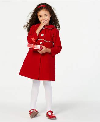 Blueberi Boulevard Toddler Girls 2-Pc. Plaid Dress & Coat Set
