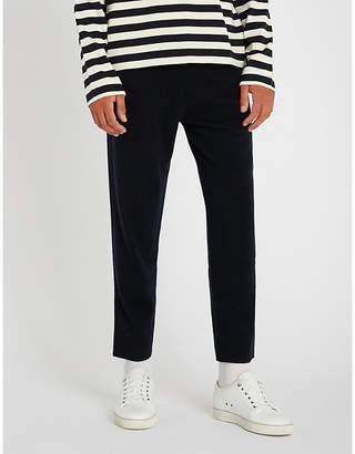Joseph Ribbed cashmere jogging bottoms