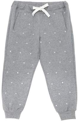 N°21 Embellished Cotton Sweatpants