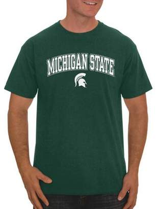 NCAA Russell Michigan State Spartans, Men's Classic Cotton T-Shirt
