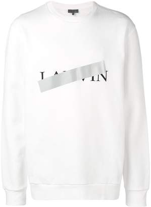 Lanvin print sweatshirt