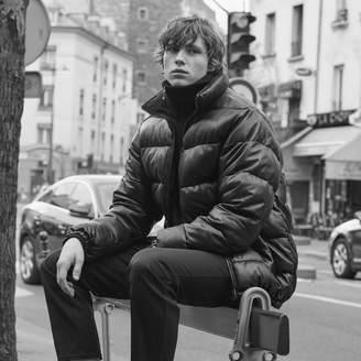 Sandro Reversible Puffer jacket