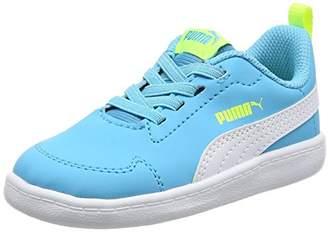 Puma (プーマ) - [プーマ] ベビーシューズ Courtflex Inf ブルー アトール/プーマ ホワイト 13.0(13cm) (旧モデル)