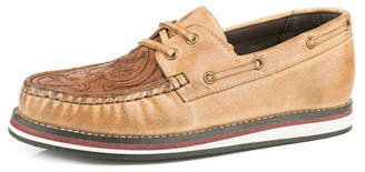 Roper Leather Driving Moccasin