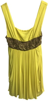 Gianni Versace Yellow Dress for Women Vintage