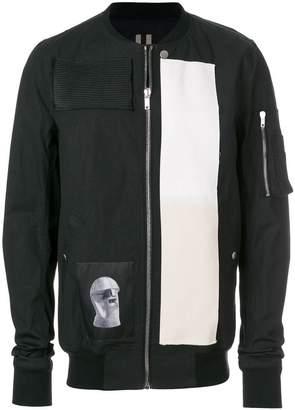 Rick Owens printed bomber jacket