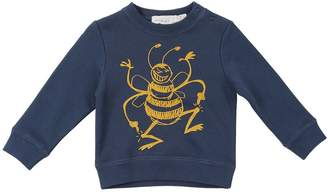 Stella McCartney Bee Printed Cotton Sweatshirt