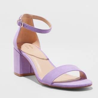 A New Day Women's Michaela Mid Block Heel Pump Sandals