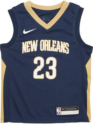 Anthony Logistics For Men NBA LOGO New Orleans Pelicans Davis Basketball Jersey