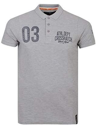 Crosshatch Men's Seton Ch Pique Polo Shirt