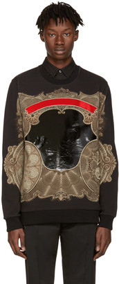 Givenchy Black Money Pullover $1,290 thestylecure.com