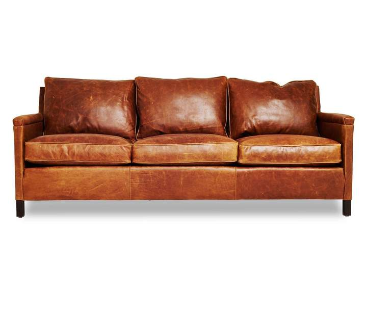 Irving Place Irving Place Heston Leather Sofa