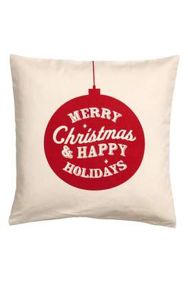 H&M Christmas-print Cushion Cover