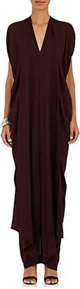 Zero Maria Cornejo WOMEN'S FOLIO TWILL MAXI DRESS - WINE SIZE 6