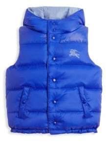 Burberry Boy's Skye Puffer Vest