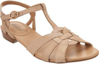VANELi Leather Multi-Strap Sandals - Brandy