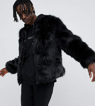 The New County bomber jacket in faux fur
