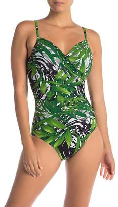 Miraclesuit Splendor Seagrass Captiva One-Piece Swimsuit
