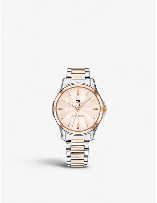 Tommy Hilfiger 1781952 Lori pink-gold stainless steel watch