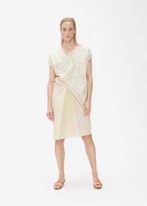 Anntian Asymmetric Panel Dress