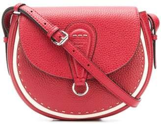 Fendi stitch detail saddle bag