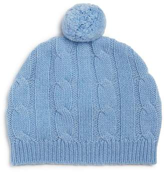 Bloomingdale's Bloomie's Boys' Cashmere Pom-Pom Hat, Baby - 100% Exclusive