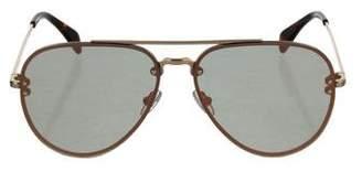 Celine Mirrored Aviator Sunglasses w/ Tags