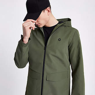 River Island Jack and Jones Core green lightweight jacket