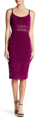 ABS by Allen Schwartz Lace Sheath Dress