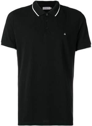 Calvin Klein Jeans logo short-sleeve polo top