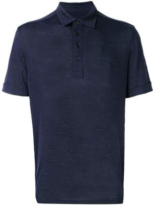 Ermenegildo Zegna short-sleeve polo shirt