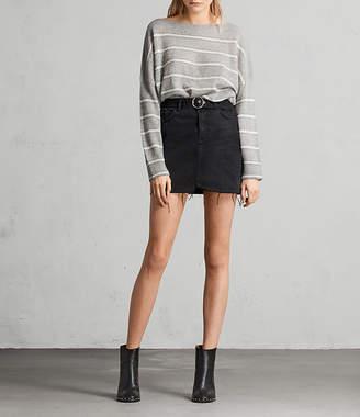 AllSaints Bette Buckle Skirt