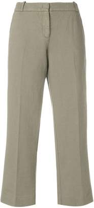 Kiltie casual cropped trousers