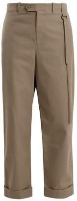 Craig Green High-rise wide-leg tailored trousers