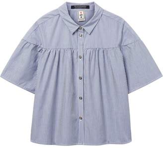 Scotch & Soda Wide Sleeve Cotton Shirt