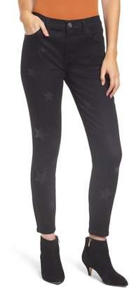 Current/Elliott The High Waist Stiletto Crop Skinny Jeans
