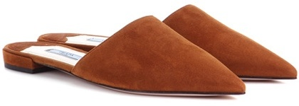 pradaPrada Suede Slippers