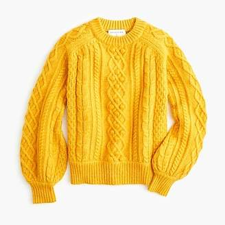 J.Crew DemyleeTM X balloon-sleeve sweater