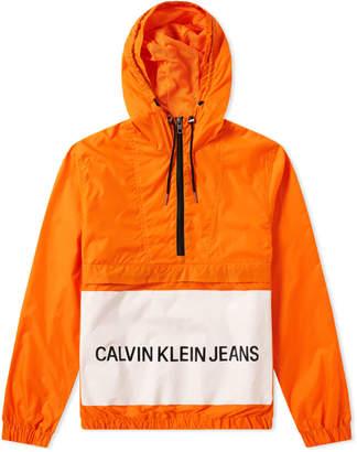 Calvin Klein Institutional Logo Popover Jacket