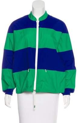 Tory Sport Lightweight Striped Jacket