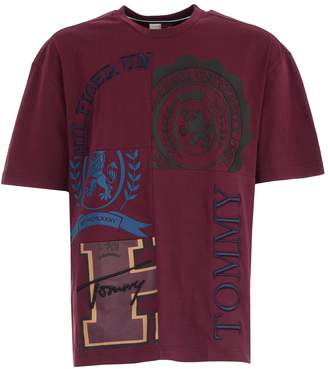 Tommy Hilfiger T-shirt S/s W/college Patchwork