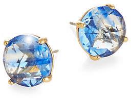 Kate Spade Blue Crystal Stud Earrings